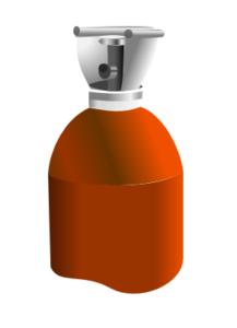 Acetylene cylinder